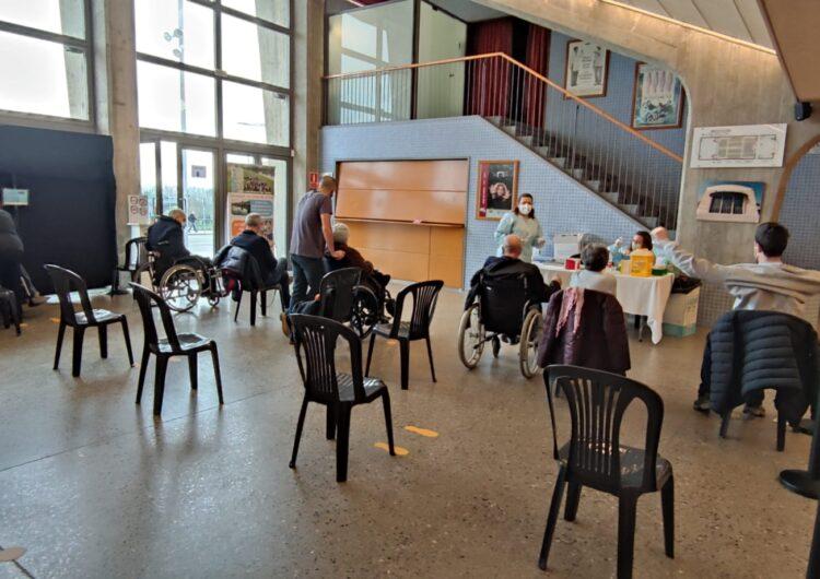 Balaguer cedeix el Teatre Municipal per la campanya de vacunació contra la covid-19 a majors de 80 anys