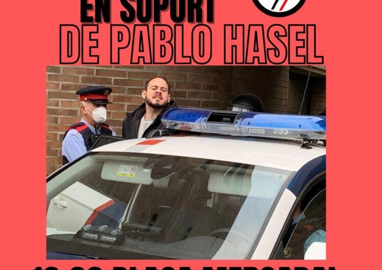 Convoquen una concentració en suport a Pablo Hasel a Balaguer