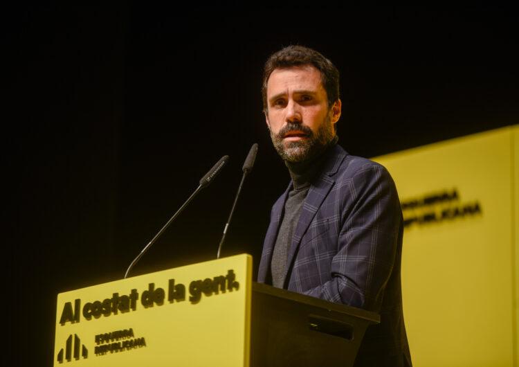 """ERC fa una crida a la mobilització el 14-F perquè no """"perilli"""" un Govern republicà"""