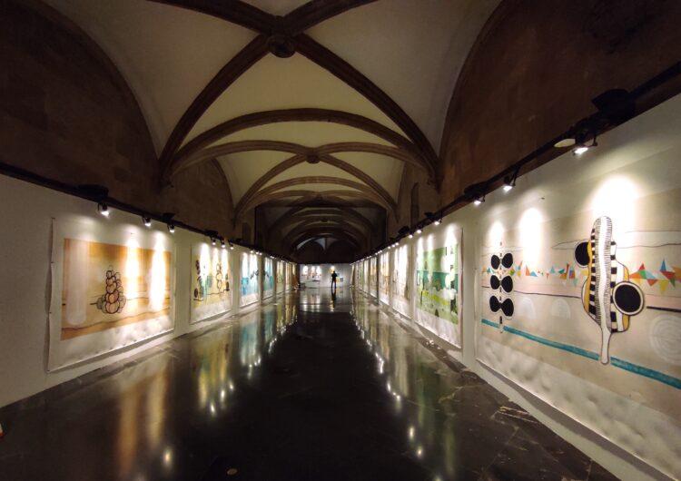 La Gòtika de l'IEI acull fins al 10 d'abril l'exposició Metàfores de la llumdel balaguerí Albert Minoves
