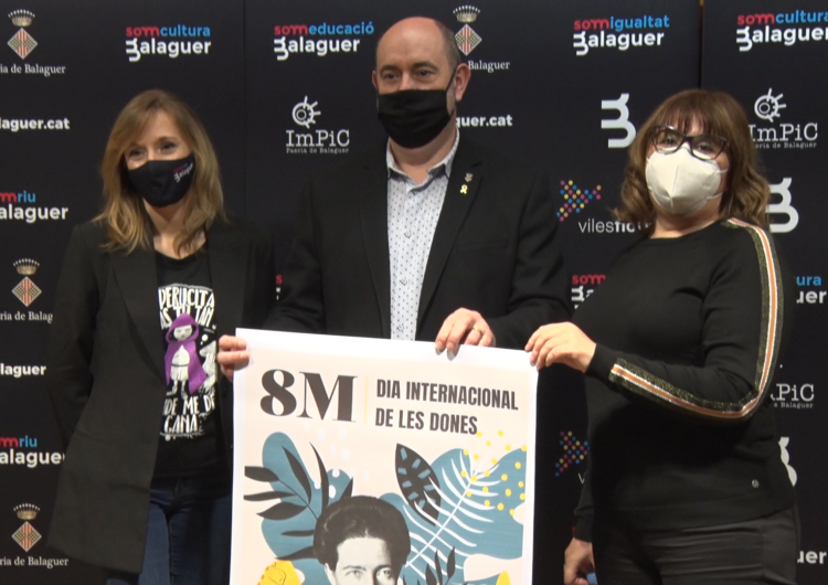 La Paeria de Balaguer presenta els actes pel Dia Internacional de les dones