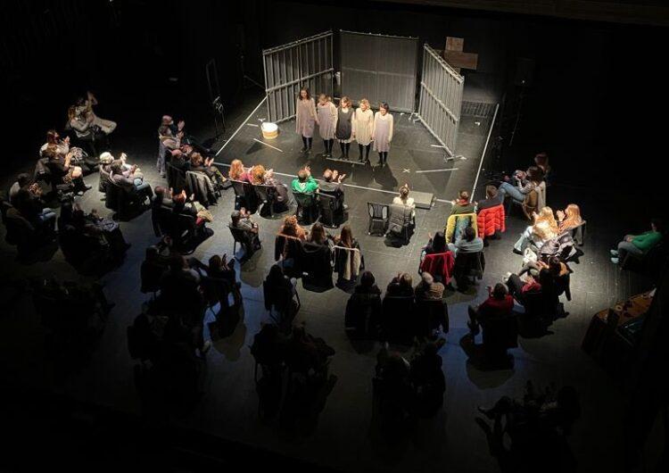 """El Teatre de Balaguer ha acollit aquest divendres la representació de l'espectacle """"Preses"""""""