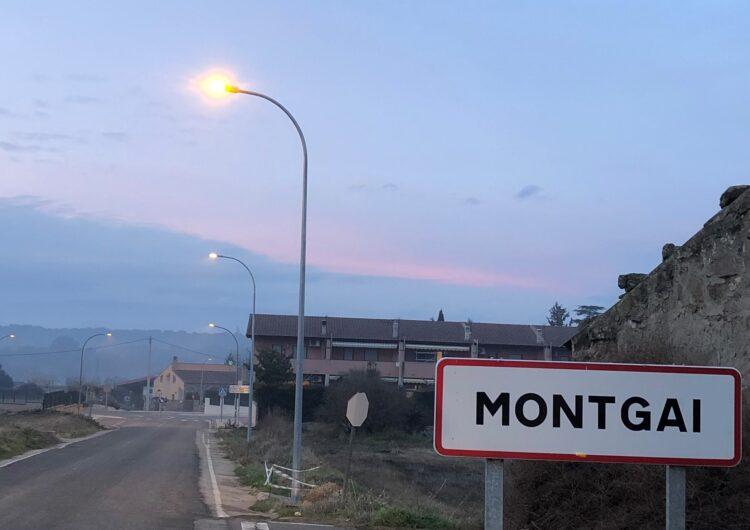 Montgai finalitza el canvi de l'enllumenat a tecnologia LED