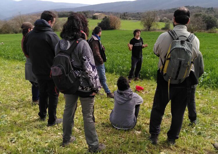 Àger dona a conèixer els seus productors locals ecològics als alumnes de l'Escola de Pastors de Catalunya