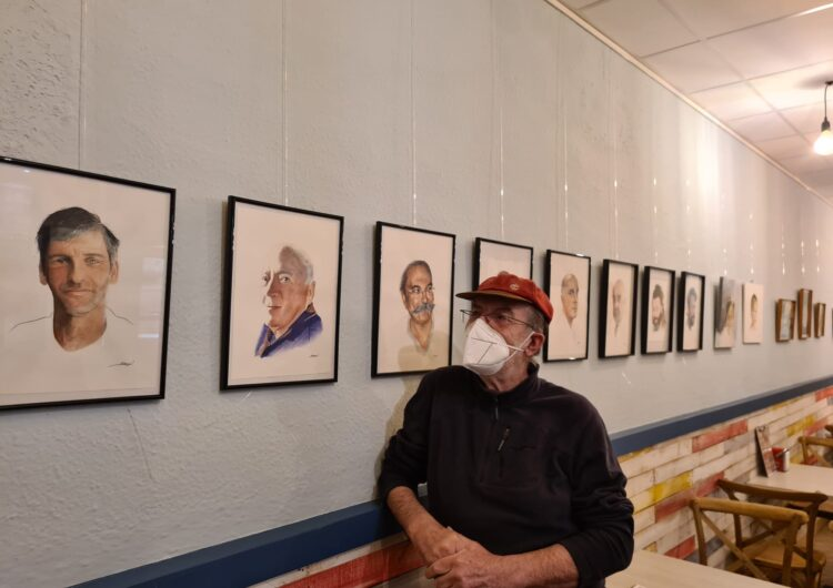 El pintor Elies Seguí exposa al bar La Sal de Balaguer