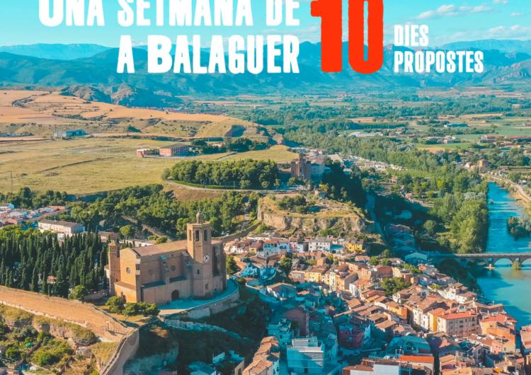 Una setmana de 10 a Balaguer