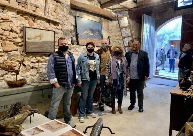 Exposició permanent a Santalinya amb obres dels artistes Jordi Marcos i Antoni Camarasa