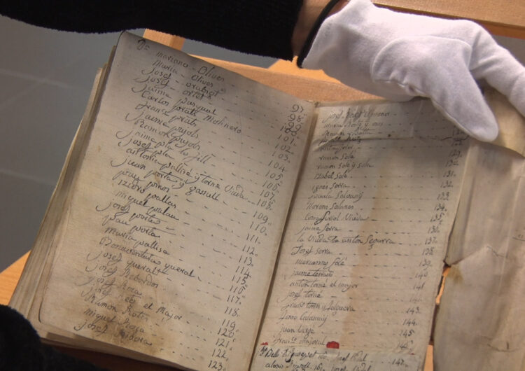 L'Arxiu de la Noguera ja disposa d'un manuscrit del 1800 de la Comanda de Jerusalem de Térmens