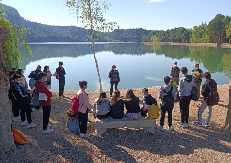 L'Institut Ciutat de Balaguer investiga el Pantà de Sant Llorenç de Montgai
