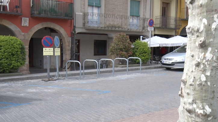 Balaguer ja disposa de diversos punts per aparcar bicicletes