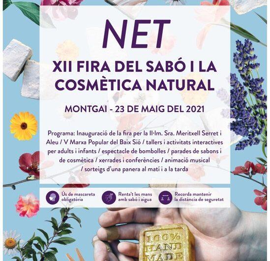"""Montgai celebrarà la 12a edició de """"Net, Fira del sabó i la cosmètica natural"""""""