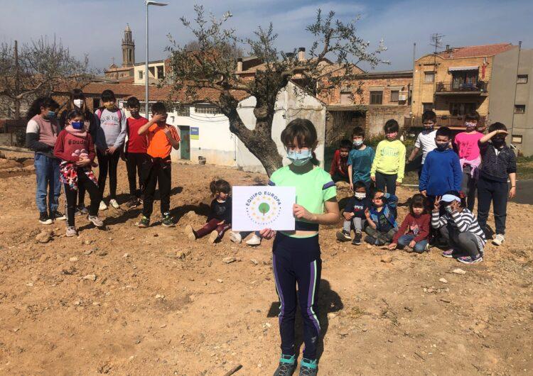 """Montgai i Butsènit d'Urgell es sumen al projecte """"Un arbre per Europa'"""