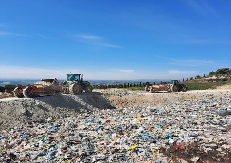 Construcció de tres dics de contenció al Dipòsit Controlat de Residus Municipals de la Noguera a Balaguer