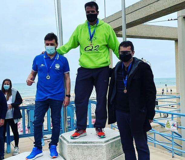 El nedador del CEN Balaguer Lluís Pijuan guanya la medalla d'or al Campionat de Catalunya Màster