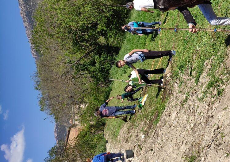 L'Ajuntament d'Àger organitza una plantada d'arbres per celebrar Sant Jordi i reivindicar la preservació del medi