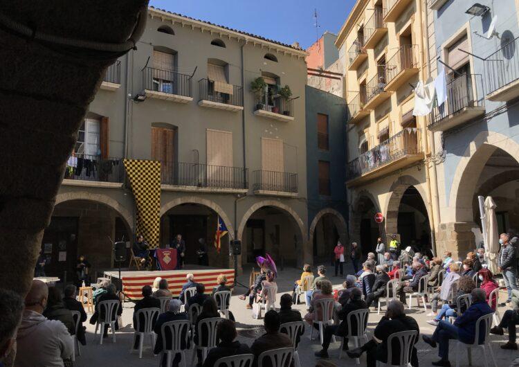 Quim Torra presenta el seu llibre a Balaguer amb Francesc Canosa