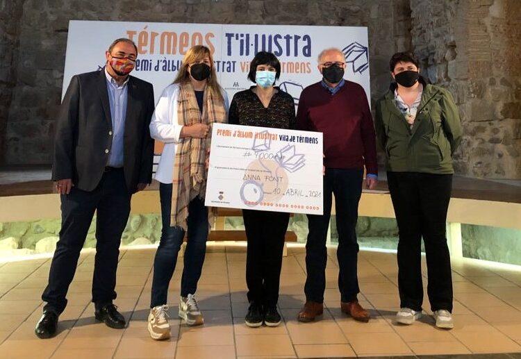 Anna Font Garcia, guanyadora de la 2a edició del Premi Àlbum Il·lustrat Vila de Térmens