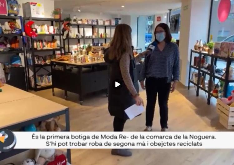 Connecti.cat: Nou projecte social a Balaguer amb la primera botiga Moda Re- de la comarca