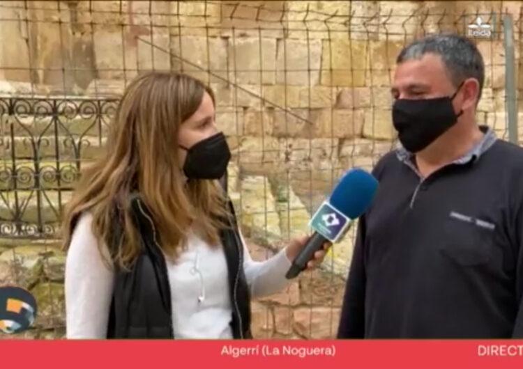 Connecta Lleida Pirineus: El Bisbat de Lleida autoritza l'inici de les obres de rehabilitació de l'església d'Algerri