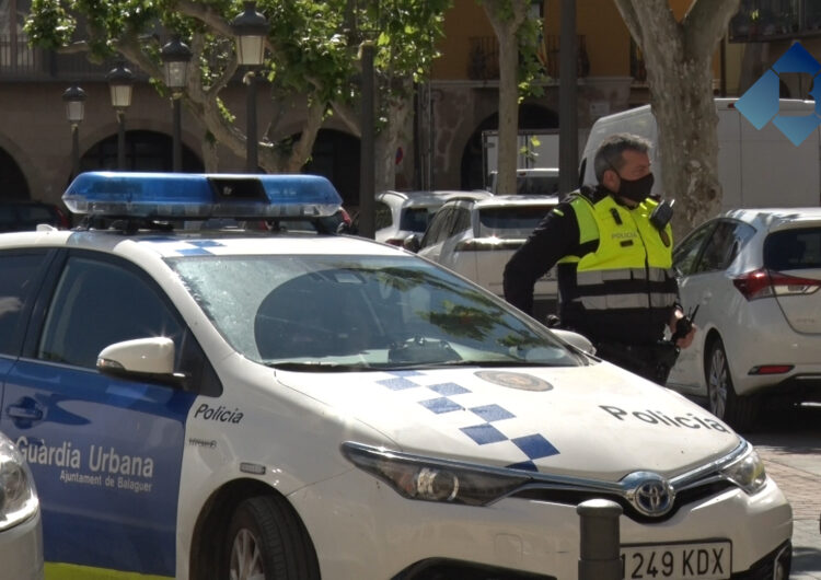 La Paeria de Balaguer admet que treballa per resoldre les mancances que puguin haver-hi a la Guàrdia Urbana