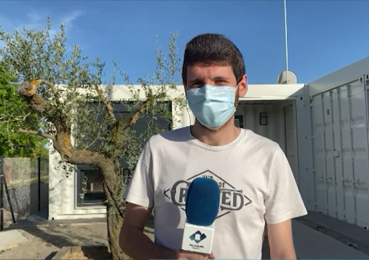 Connecti.cat: Construeixen a Menàrguens la primera casa modular sostenible de la comarca