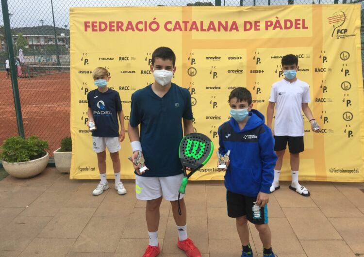El balaguerí Íker Castillo i el seu company Gerard Navas, campions del 2n Gran Slam de Menors