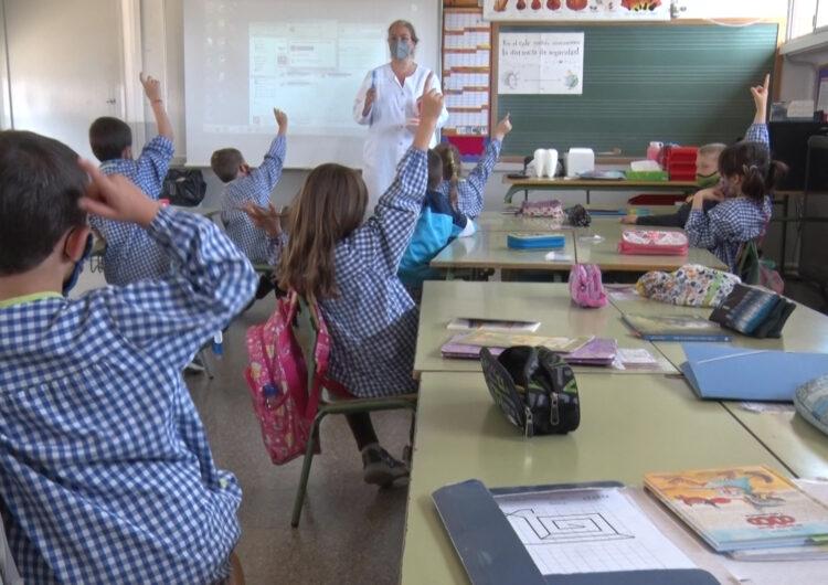 """La Clínica Dental Balaguer imparteix el taller """"Cuidem el Somriure"""" als alumes de l'escola Gaspar de Portolà"""