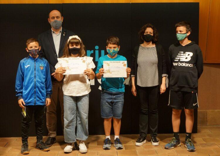 La Paeria de Balaguer lliura els premis als guanyadors del concurs de cuina infantil Menuts Q