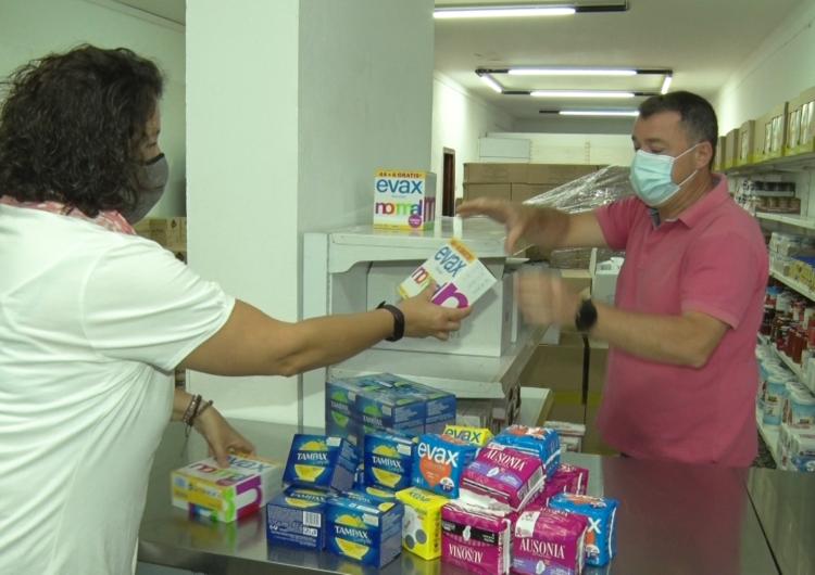 El Consell Comarcal de la Noguera obre un banc de productes d'higiene femenina