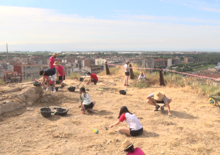 Comença la 15a edició del taller 'Cota Zero' al Castell Formós