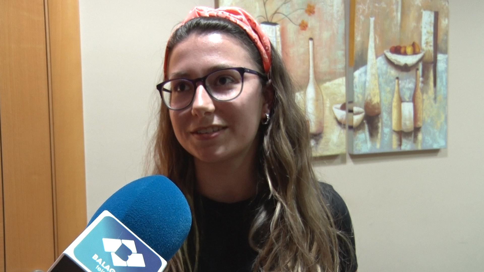 """Aina Vallejo Cases: """"Si controlem els nervis davant l'examen segur que tot anirà bé"""""""