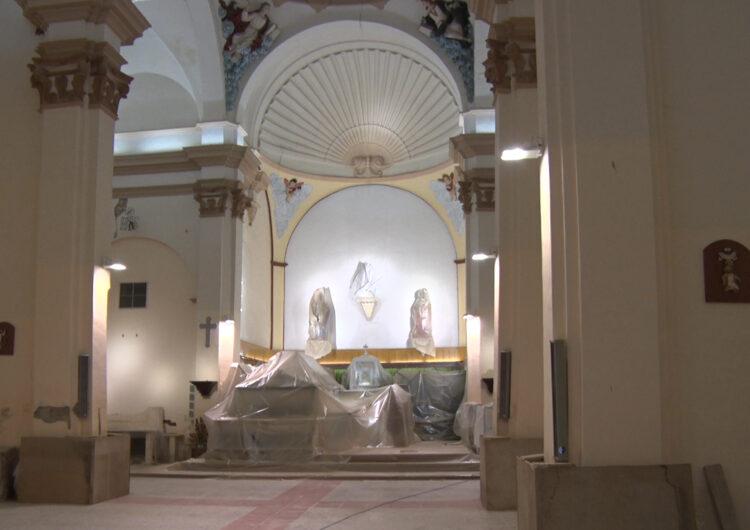 Comencen les obres de l'església d'Algerri