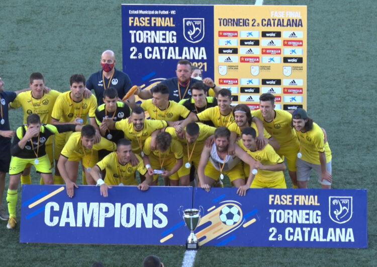 El CF Balaguer guanya el torneig de 2a Catalana