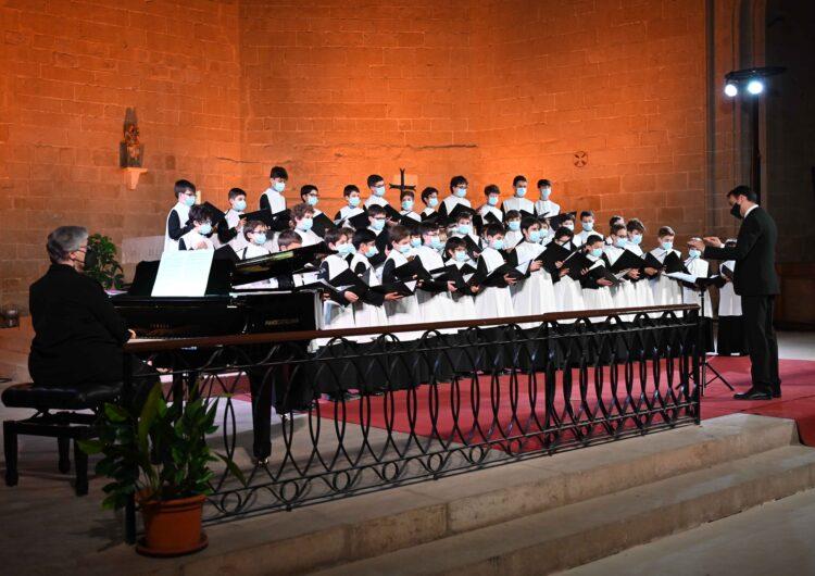 L'Escolania de Montserrat commemora el 10è aniversari del Juliol de Música i Poesia de Balaguer