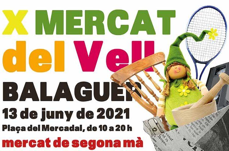 Balaguer acollirà, aquest diumenge, la 10a edició del Mercat del Vell