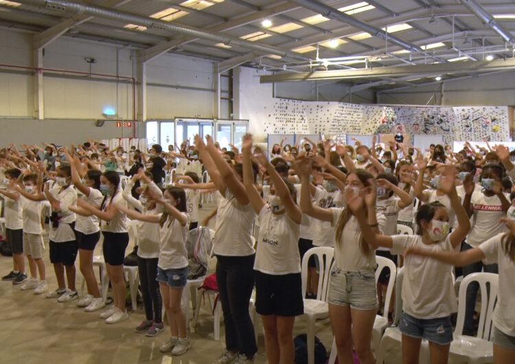 Els escolars de Balaguer 'musiquen' amb l'Escola Municipal de Música