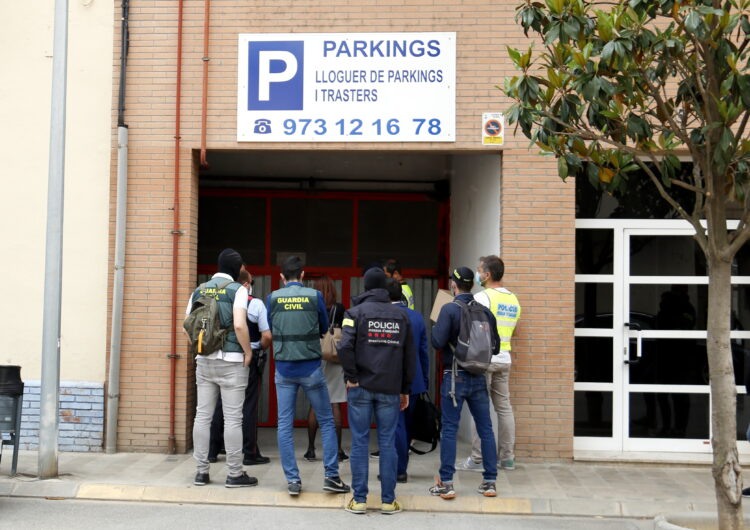 Alguns membres de la xarxa de drogues desarticulada a Lleida i Balaguer van ser absolts fa un any per falta de proves