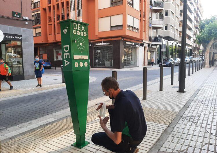 La Paeria de Balaguer instal·la un DEA a la zona del Passeig de l'estació