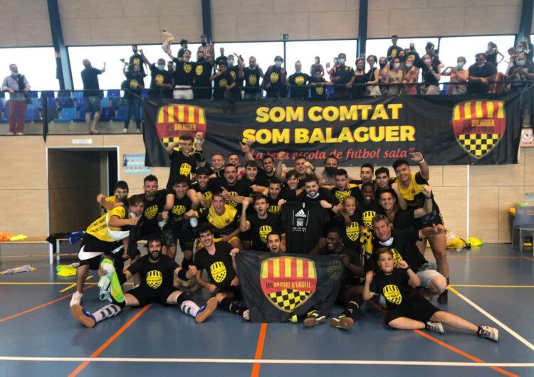 El EFS Balaguer Comtat d'Urgell puja a Tercera nacional de futbol sala