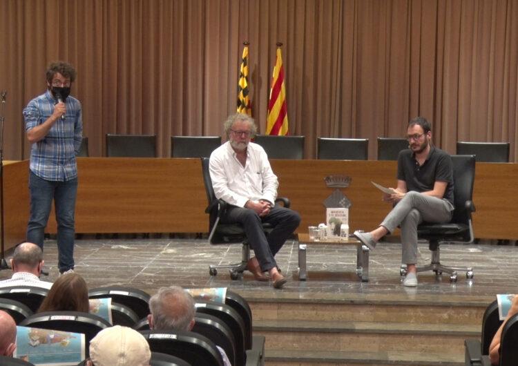 John Carlin i Oriol Malet inauguren la 1a Jornada d'Il·lustració i Disseny Gràfic Ciutat de Balaguer