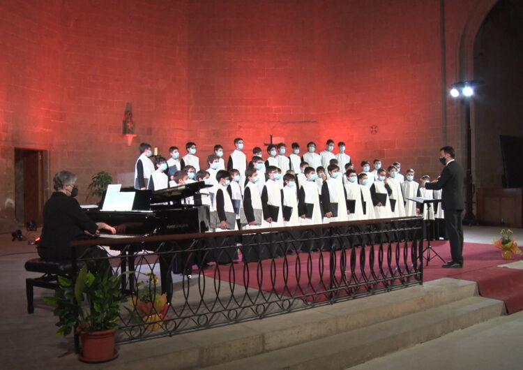 L'Escolania de Montserrat canta a Balaguer pels 10 anys del Juliol de Música i Poesia