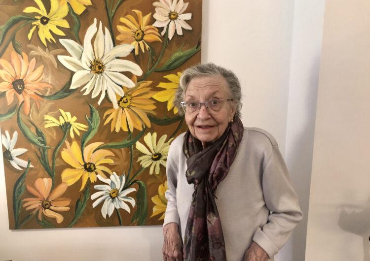 'La Brígida i les flors', l'exposició de l'obra pictòrica de 'la Brígida del Niu' arriba a Balaguer