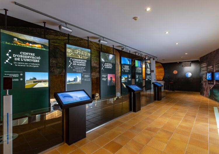 El Parc Astronòmic del Montsec estrena nova projecció coincidint amb l'ampliació del seu horari d'obertura