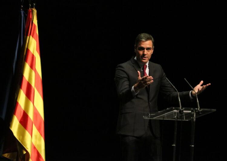 """Sánchez anuncia que el Consell de Ministres aprovarà dimarts els indults als presos de l'1-O apel·lant al """"retrobament"""""""