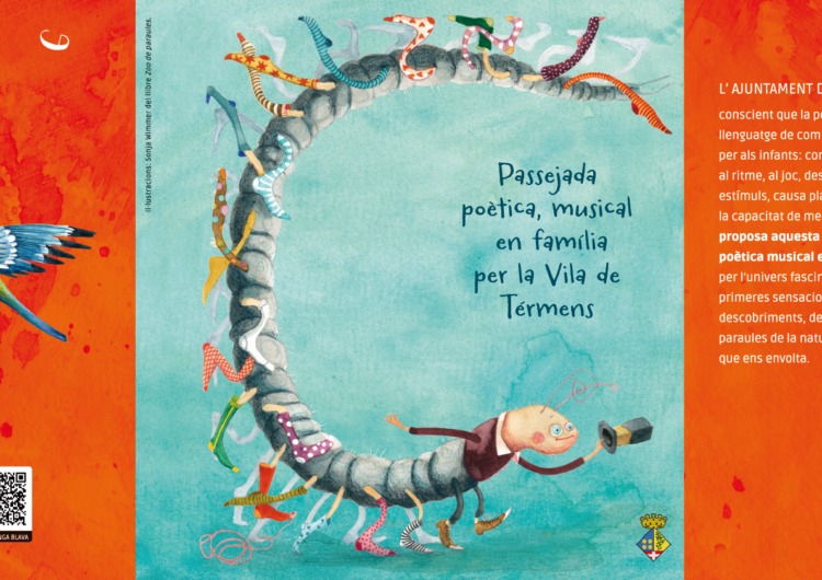 L'Ajuntament de Térmens inaugura la primera passejada poètica musical en família que es fa a Catalunya