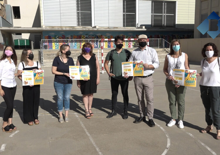 El pati de l'Escola Àngel Guimerà de Balaguer s'obre per al lleure dels nens a partir del 16 de juliol