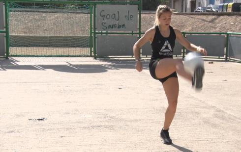 La balaguerina Jordina Rovira fitxa per una universitat dels Estats Units per competir a la NCAA de futbol