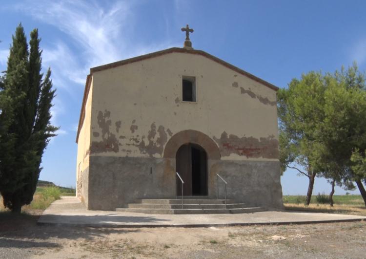 Es finalitzen les obres de consolidació de l'Ermita de la Santa Creu de Menàrguens