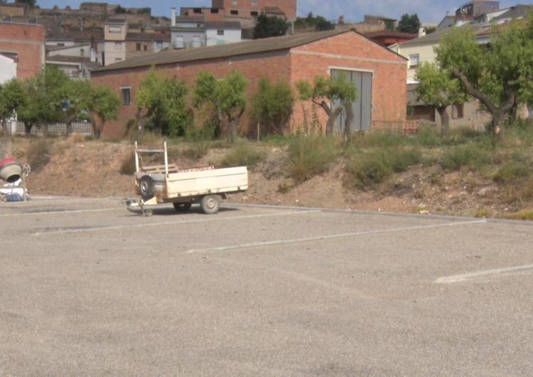 Os de Balaguer construeix un pàrquing d'autocaravanes al municipi