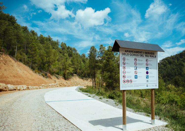 El dimarts 27 de juliol entraran en funcionament els aparcaments amb control d'accés al Riu Rialb